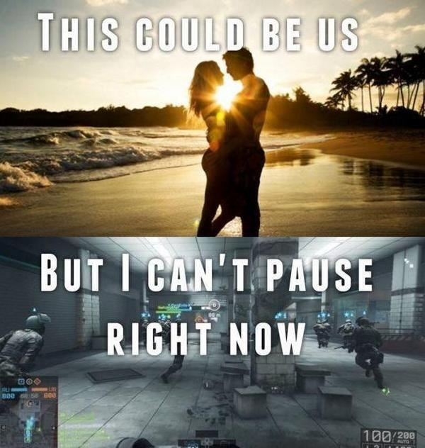 This could be us, but I can't pause right now Picture Quote #1