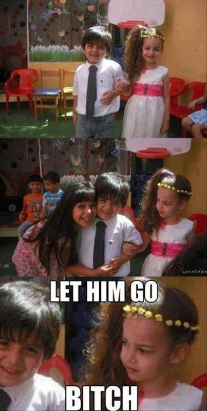 Let him go bitch Picture Quote #1