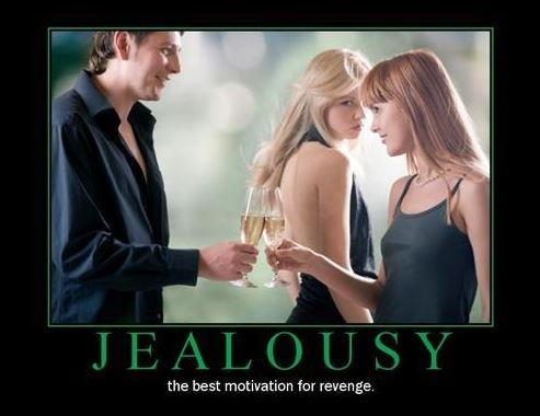 Jealousy. The best motivation for revenge Picture Quote #1