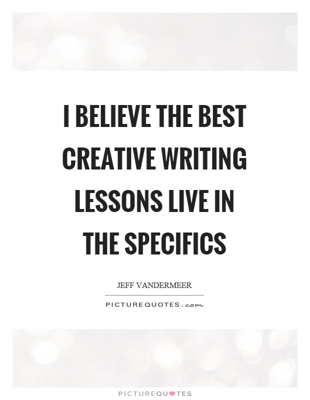 quotes on creative writing