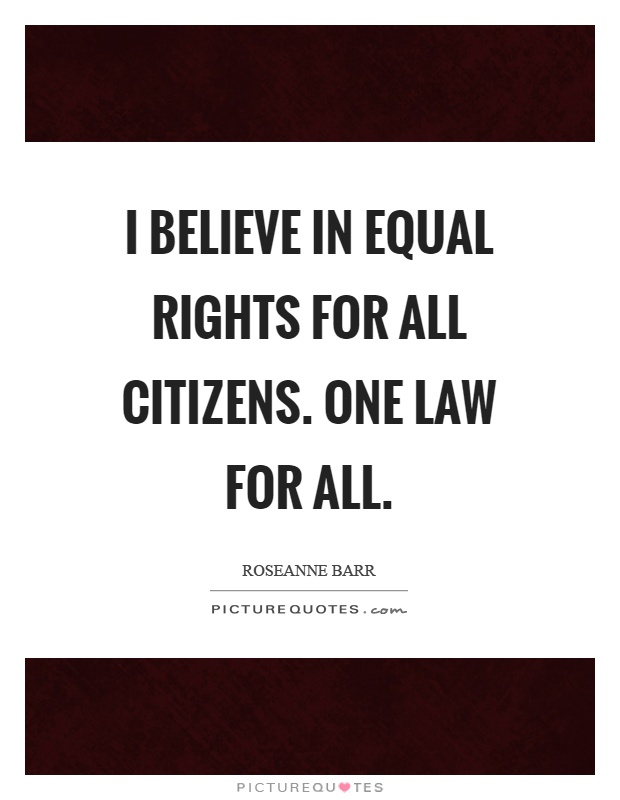 Believing all are equal essay