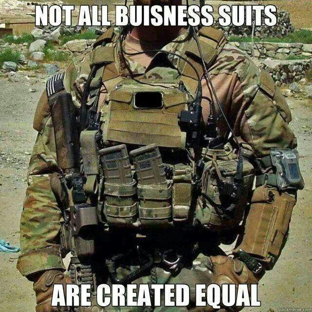 Not all business suits are created equal Picture Quote #1