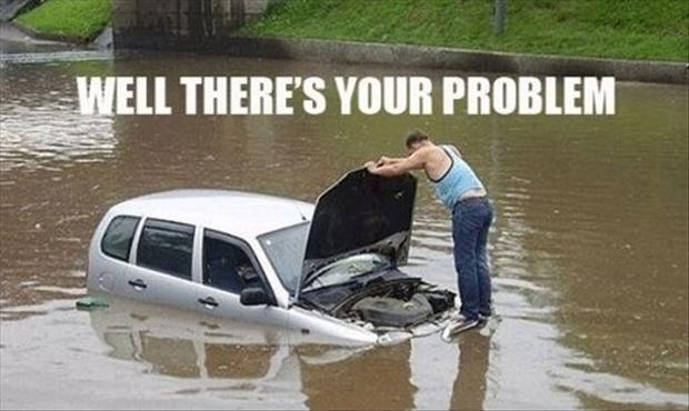 Well there's your problem Picture Quote #1