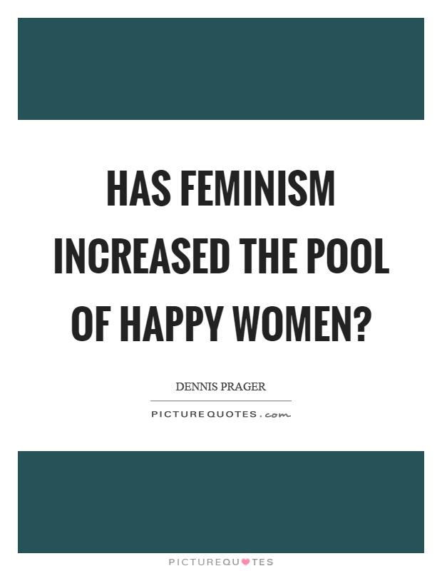 Has feminism made women happy?