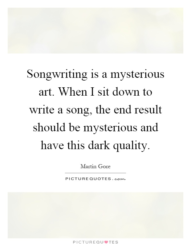 What should i write a song about?