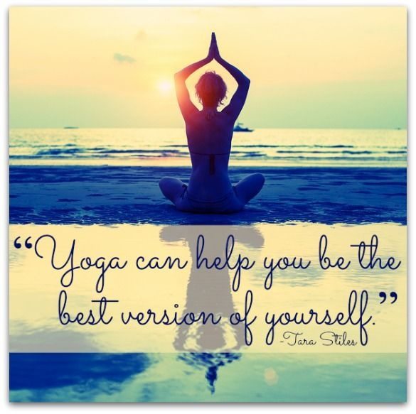 Yoga can help you be the best version of yourself Picture Quote #1