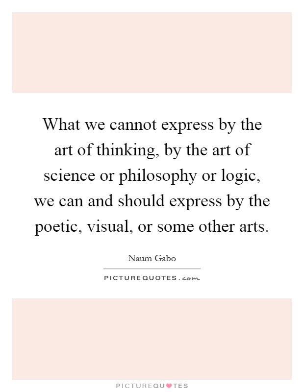 what is the relationship of philosophy to science and art