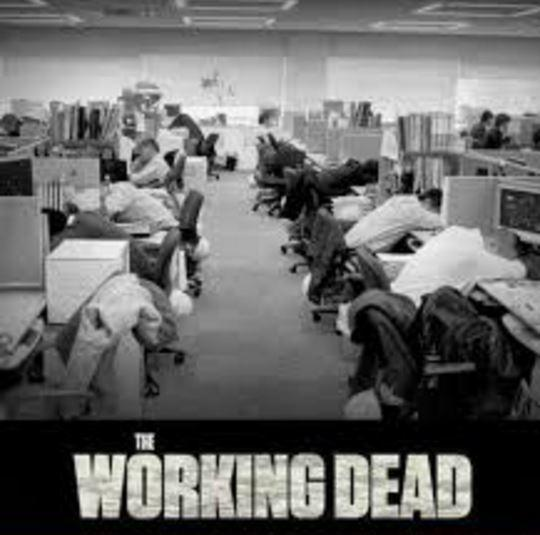 The working dead Picture Quote #1