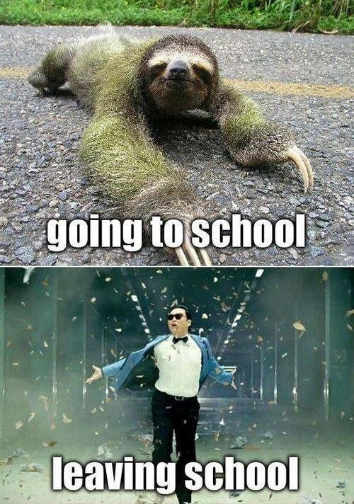 Going to school. Leaving school Picture Quote #1