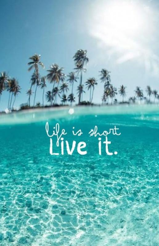 Life is short, live it Picture Quote #1