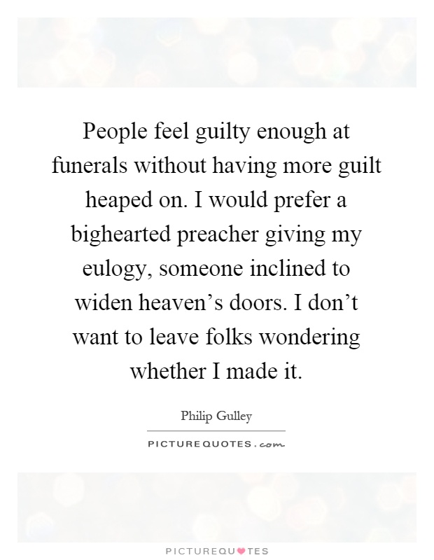 funny eulogy quotes