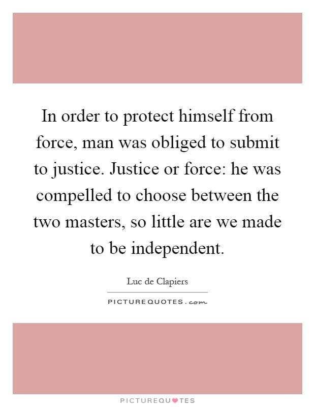 in order to protect the liberty Protection of civil liberties and civil rights is perhaps the most fundamental  political value in american society and yet, as former justice frankfurter  explained in.