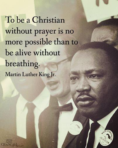 To be a Christian without prayer is no more possible than to be alive without breathing Picture Quote #1