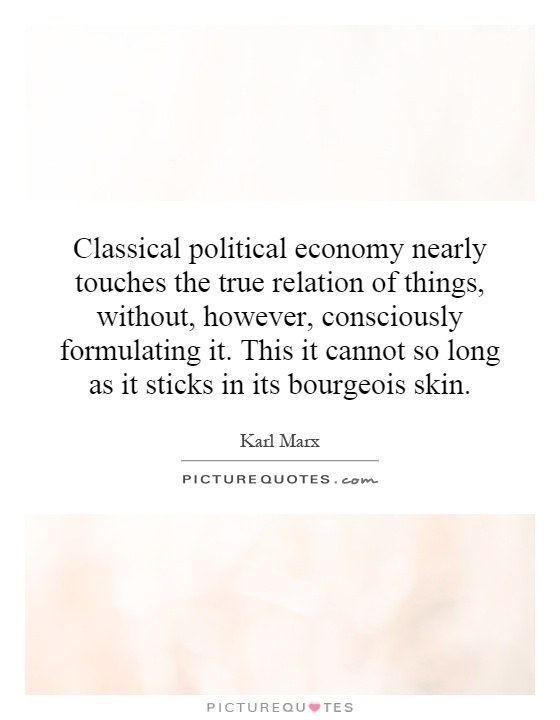 classical and marxian political economy essays Political economy, the history of economics, mathematical modeling classical, neoclassical, and marxian economic theory essays on economic complexity and dynamics in interactive systems, editor and coauthor with peter s albin.