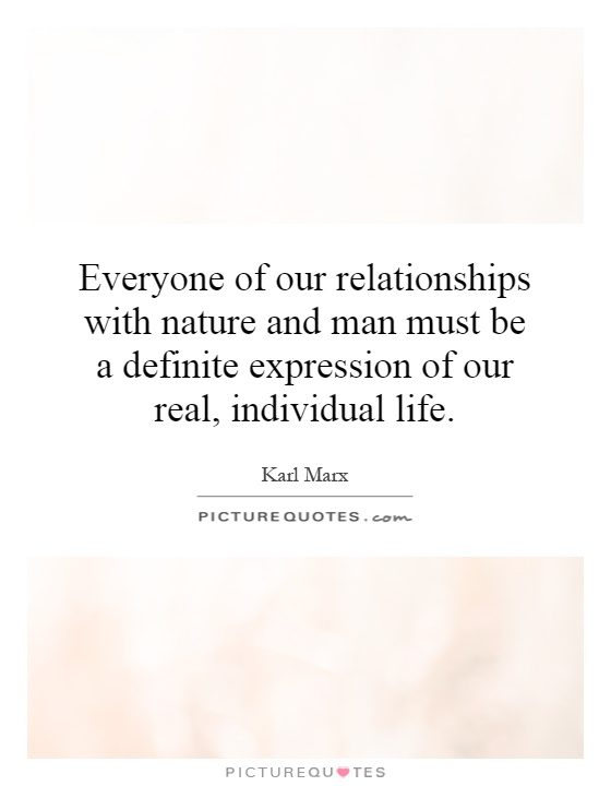 man and nature relationship pdf