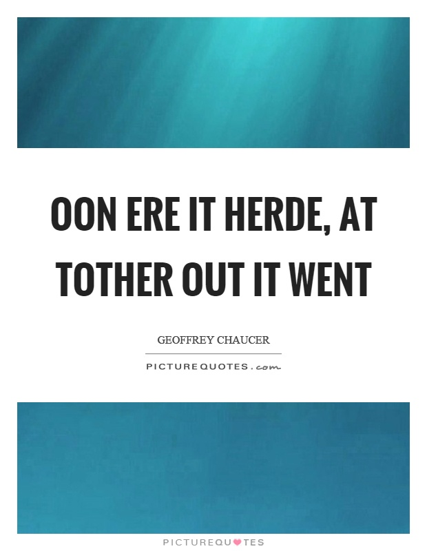 A graphic image of a Geoffrey Chaucer quote