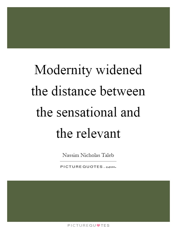 postmoderntiy a break from modernity The myth of postmodernity  although not a break with modernity, it does differ significantly not only from the statist form of modernity, .