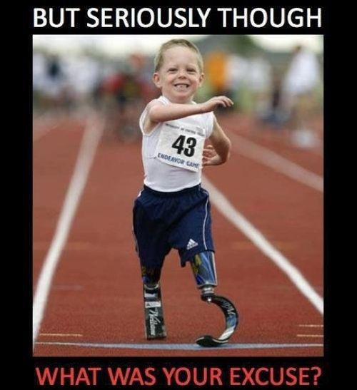 But seriously though, what was your excuse? Picture Quote #1