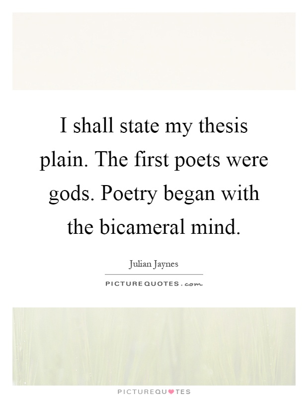 thesis quotations