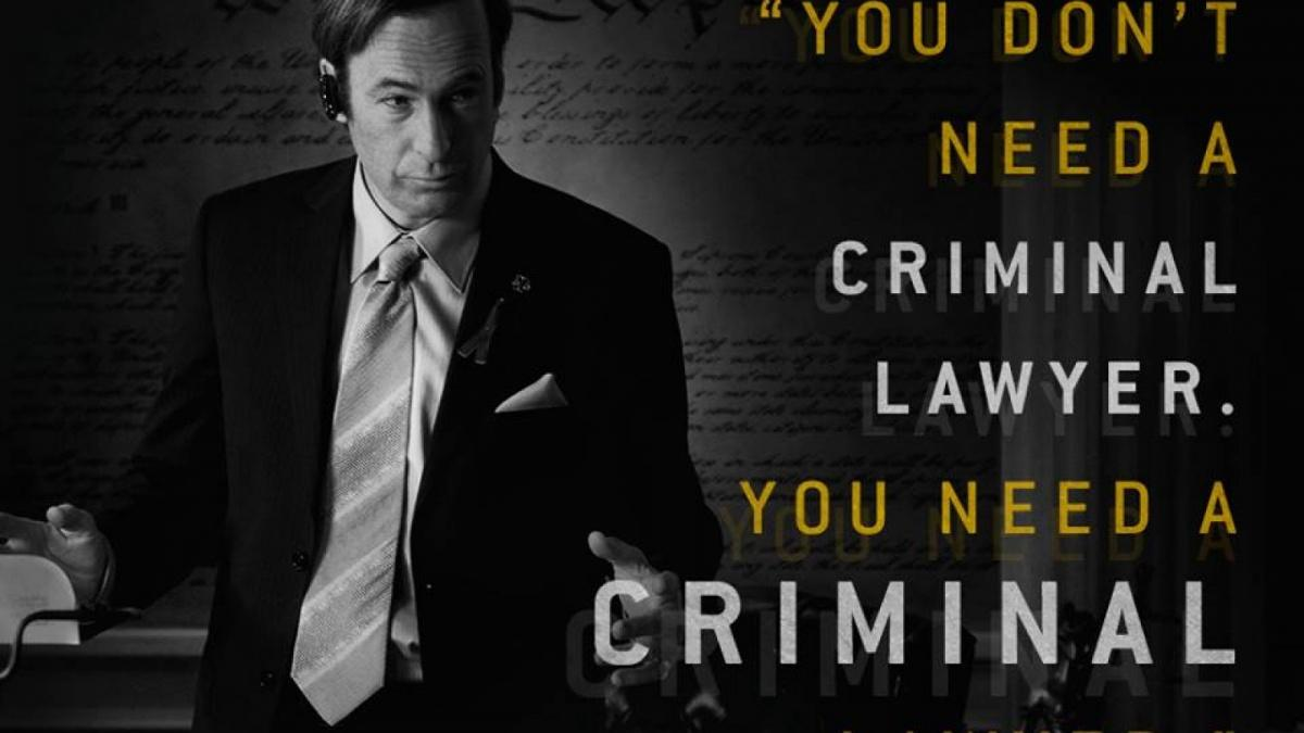 You don't need a criminal lawyer, you need a criminal Picture Quote #1