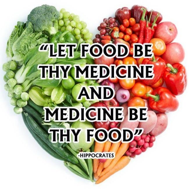 Let food be thy medicine and medicine be thy food Picture Quote #1