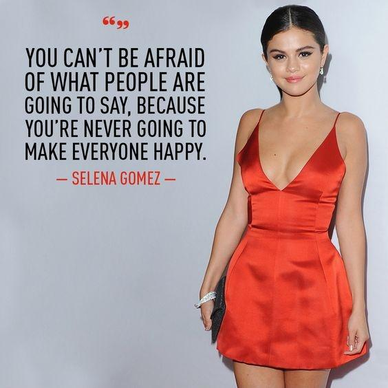 Stop Trying To Make Everyone Happy Quotes: Selena Gomez Quotes & Sayings (143 Quotations