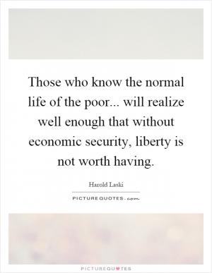 Harold laski quotes