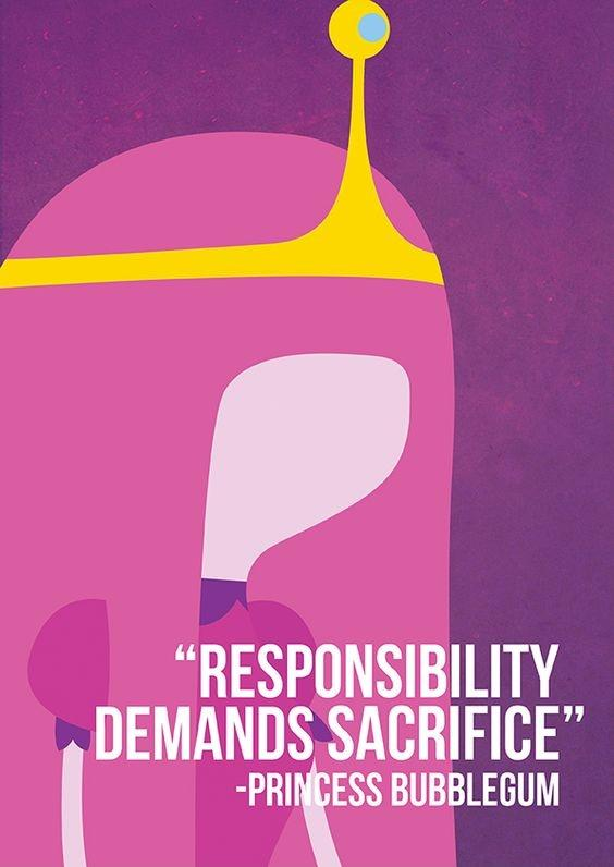 Responsibility demands sacrifice Picture Quote #1