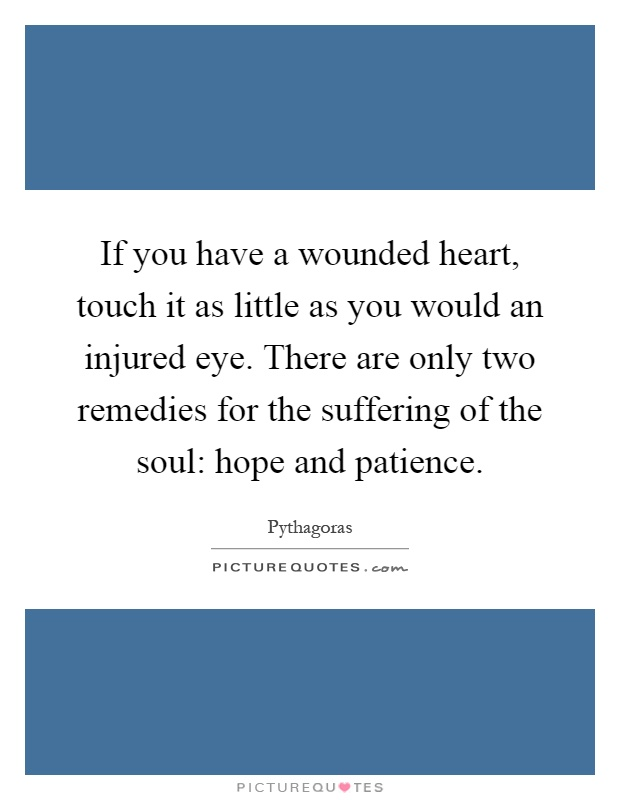 Injured heart quotes