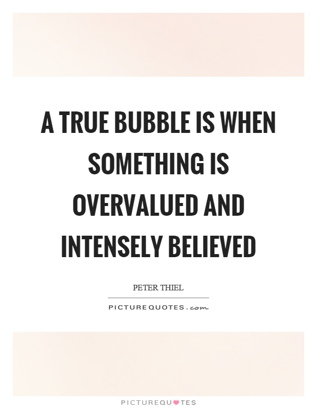 Something that is true and something that is believed to be true...?