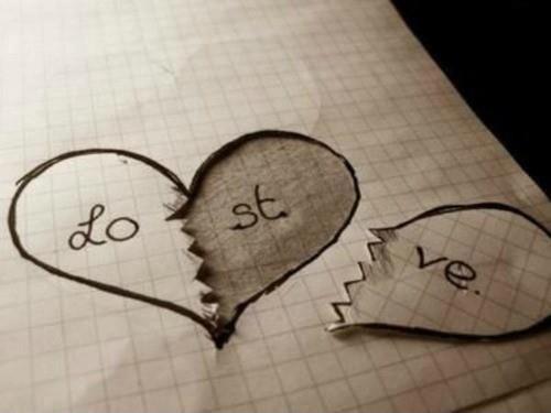 Lost love Picture Quote #1