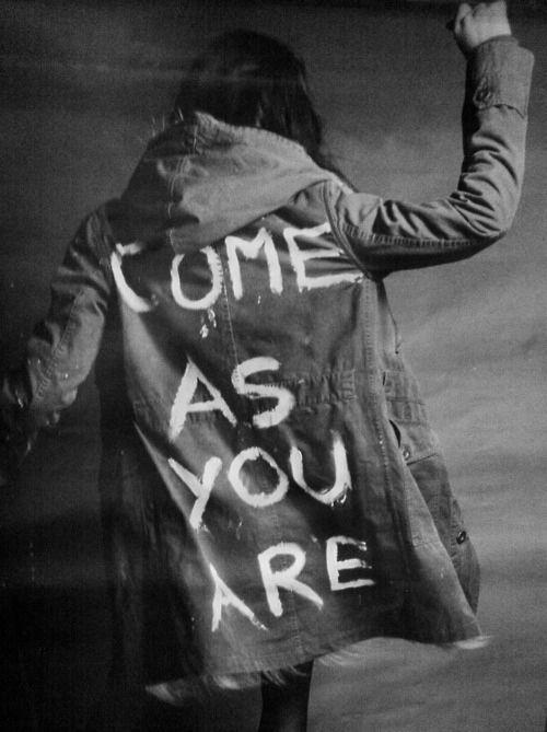 Come as you are, as you were as I want you to be as a trend, as a friend, as a known enemy Picture Quote #1