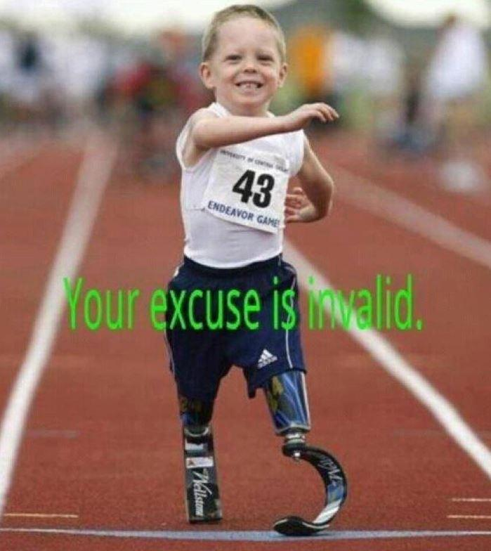 Your excuse is invalid Picture Quote #1