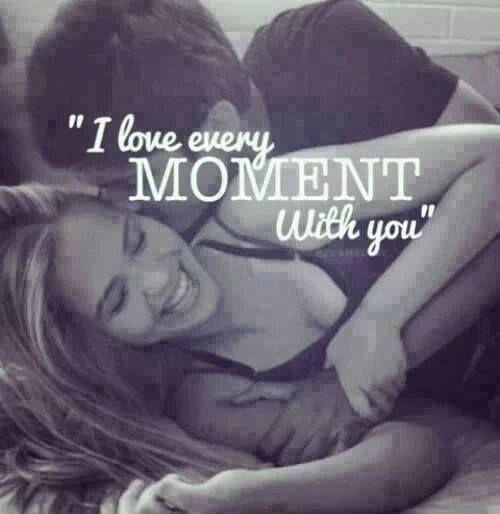 I love every moment with you Picture Quote #1