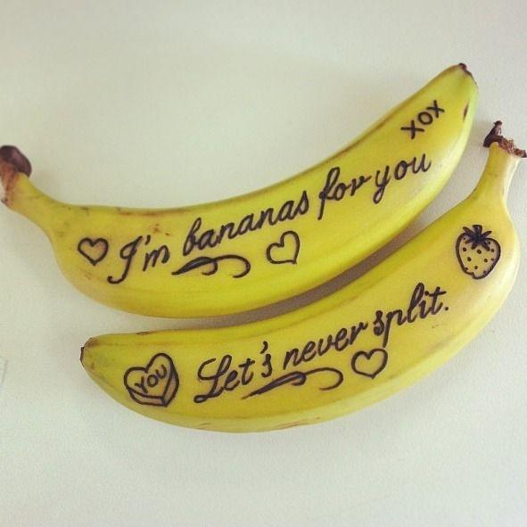 I'm bananas for you, let's never split Picture Quote #1