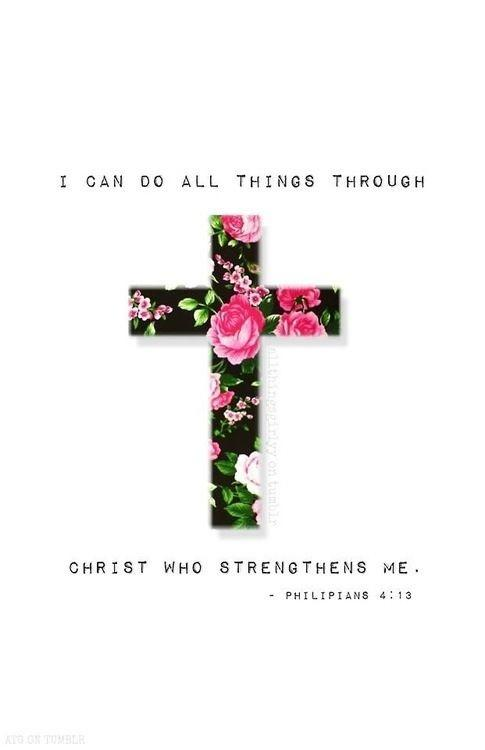 I can do all things through Christ who strengthens me Picture Quote #2