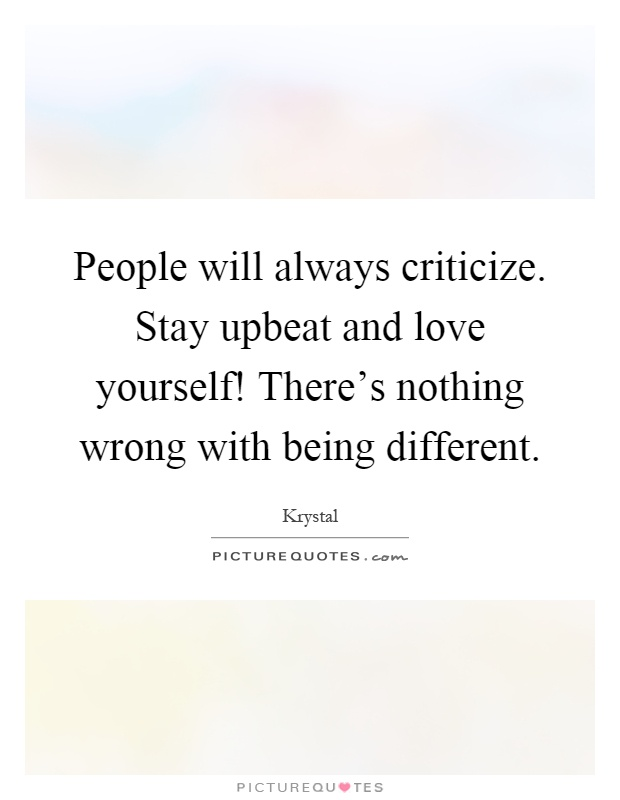 Being Different Quotes & Sayings | Being Different Picture ...