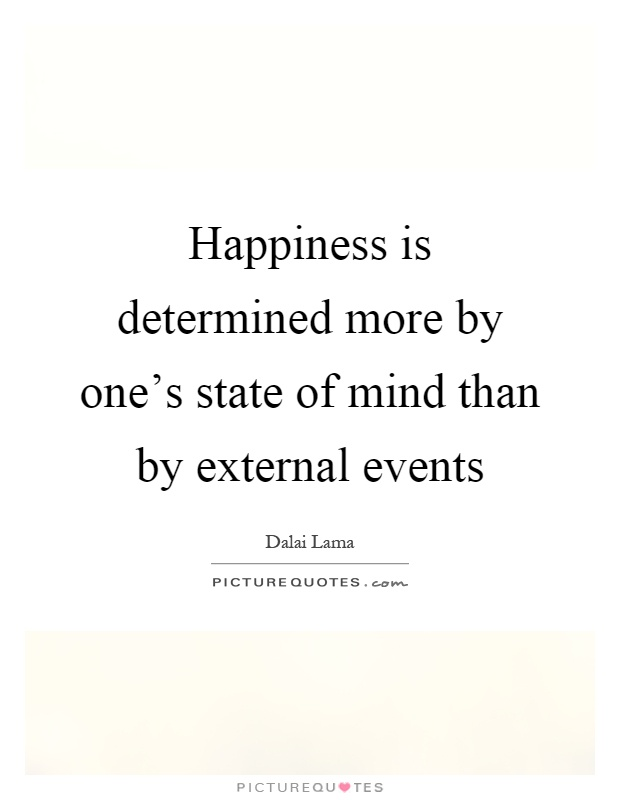 essay happiness is a state of mind