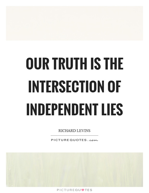intersection and truth relationship