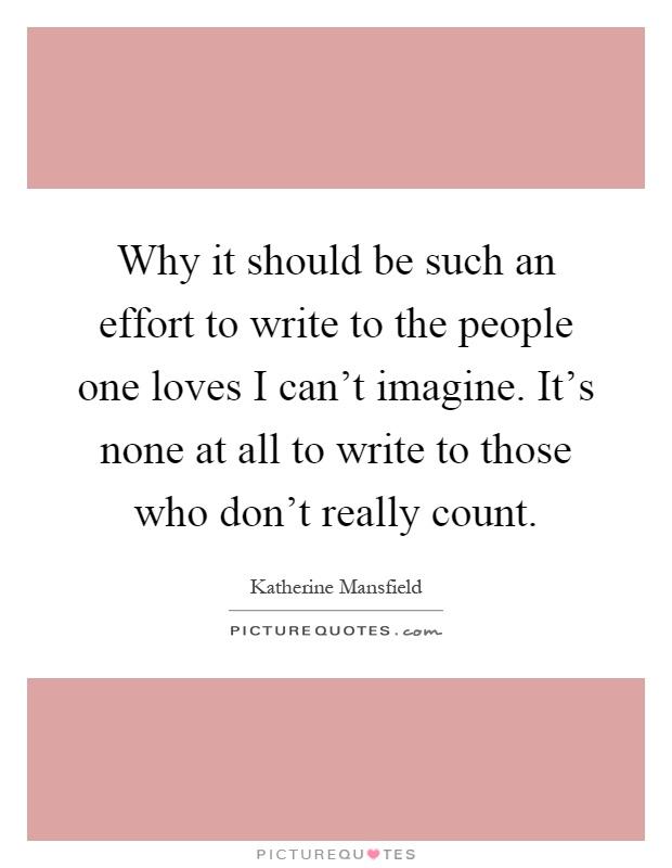 why should i write - photo #21
