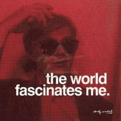 The world fascinates me Picture Quote #2