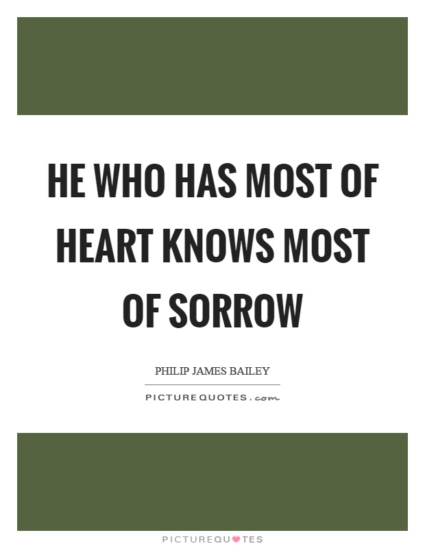 He Has My Heart Quotes: Sorrow Picture Quotes
