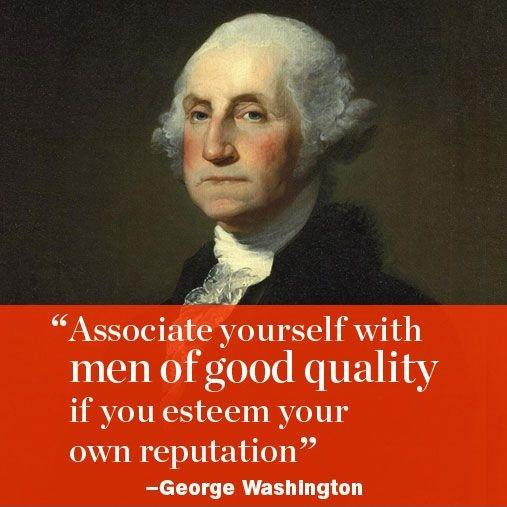 Associate yourself with men of good quality, if you esteem your own reputation Picture Quote #1