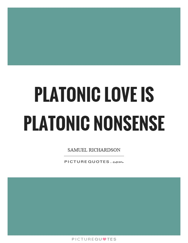 platonic love relationship