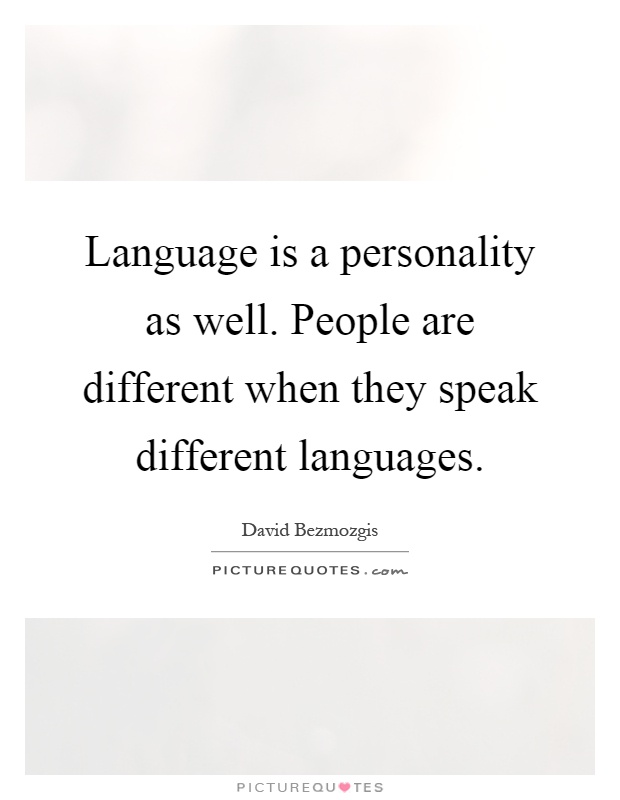 dating someone who speaks different language