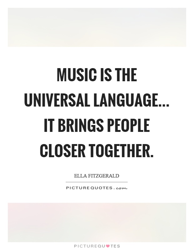 is music a universal language essay The book the music between us: is music a universal language, kathleen marie higgins is published by university of chicago press.