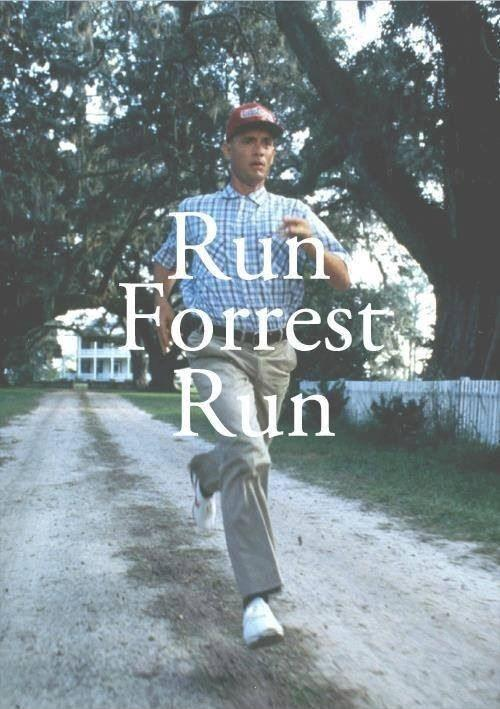 Run Forrest, run Picture Quote #1