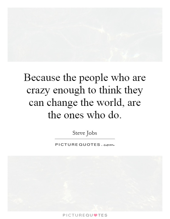 essay on people who changed the world