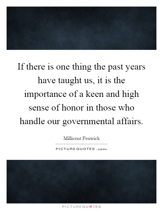 the importance of honor It's the first time in the honor code's 49-year history that a department has taken  such a  it's all important, but none of that has to be true or real.