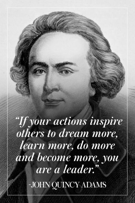 If your actions inspire others to dream more, learn more, do more and become more, you are a leader Picture Quote #1